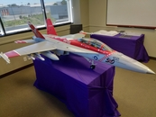 F18 Model Plane Pack and Ship