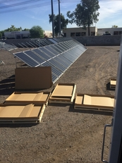 Packing Solar Modules