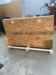 Shipping TV Crate