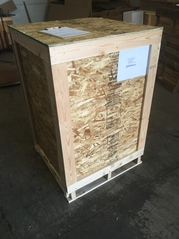 Crated to ship